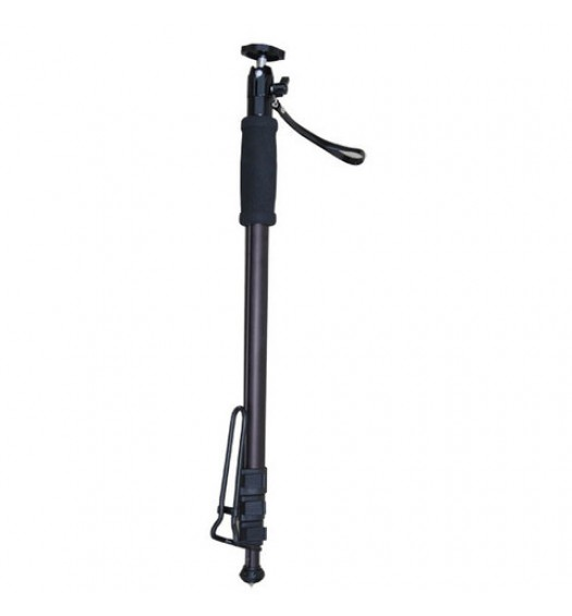 "iShot Pro 70"" HD Professional Monopod Pole + Locking Medium Swivel Ball Head for GoPro Action Camera"